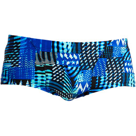Funky Trunks Classic Caleçon de bain Homme, electric nights